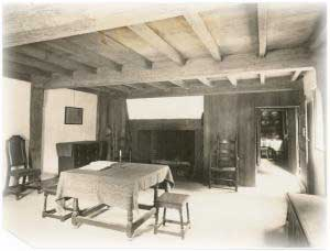 Parlor Or Living Room In The John Ward House, Formerly On Land Occupied By  The Salem Jail And Removed To The Garden Of The Essex Institute. Built In  1684.