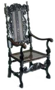 Antique Carolean Chair