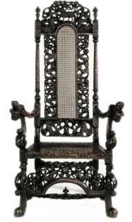 English Baroque Antique Chair