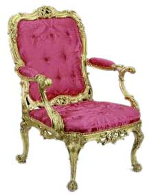 English Rococo Style Furniture :  interior design furniture rococo english