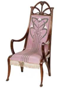 Art Nouveau ArmchairArt Nouveau Furniture. Art Nouveau Furniture. Home Design Ideas