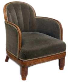 Charmant Art Deco Armchair