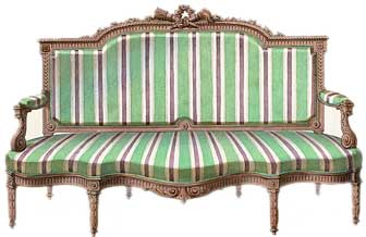 Merveilleux Louis XVI Sofa